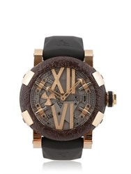 Romain Jerome Steampunk Red Titanic Auto Watch