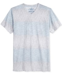American Rag Men's New Years Stripe T Shirt Only At Macy's Clear Blue