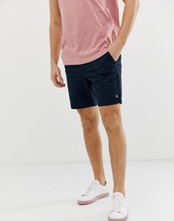 Original Penguin Slim Fit Stretch Chino Shorts In Navy