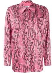Msgm Casual Shirt Pink