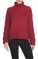 Women's 1.State Cable Knit Turtleneck Sweater