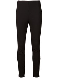 Rag And Bone High Waist Skinny Fit Trousers Black