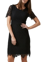 Sugarhill Boutique Dawn A Line Lace Dress Black