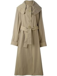 J.W.Anderson Draped Trench Coat Nude And Neutrals
