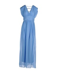 Bgn Dresses Long Dresses Women Pastel Blue