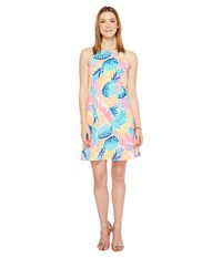 Lilly Pulitzer Margot Dress Multi Goombay Smashed Women's Dress