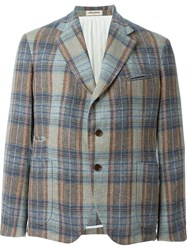 Al Duca D'aosta 1902 Plaid Blazer Multicolour