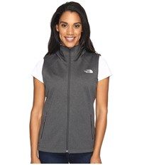 The North Face Canyonwall Hoodie Vest Tnf Dark Grey Heather Women's Vest Gray