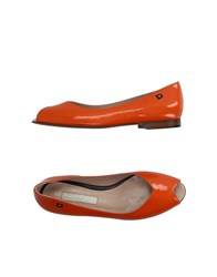 Dibrera By Paolo Zanoli Footwear Ballet Flats Women Orange
