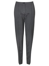 Gardeur Zene Slim Fit Jacquard Trousers Black Silver