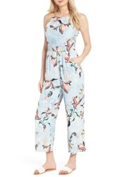 Cupcakes And Cashmere Women's Darsy Floral Print Jumpsuit