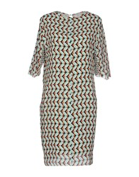 Massimo Rebecchi Dresses Short Dresses Women Light Green