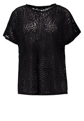 Cheap Monday Joy Print Tshirt Black