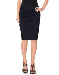 Les Copains Skirts Knee Length Skirts Women Dark Blue