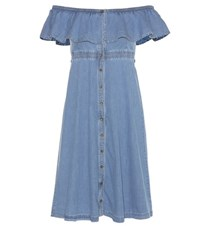 Tommy Hilfiger Denim Dress Blue
