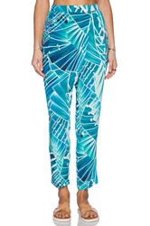Seafolly Miami Blade Runner Pant Blue
