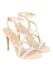 Jane Norman Strappy Heel Beige