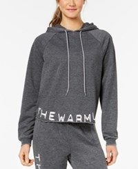 Jessica Simpson The Warm Up Burnout French Terry Hoodie Black