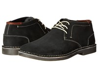 Kenneth Cole Reaction Desert Sun Black Men's Lace Up Boots