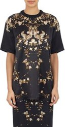 Givenchy Women's Baby's Breath Satin T Shirt Colorless