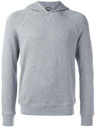 Dsquared2 Basic Crew Neck Hoodie Grey