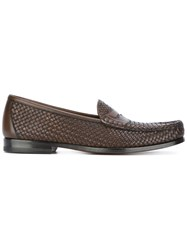 Tom Ford Neville Loafers Brown