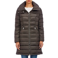 Flammette Hooded Coat 828 Olive