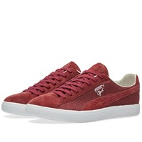 Puma Clyde Made In Japan Burgundy