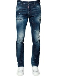Dsquared 16.5Cm Cool Guy Cotton Denim Jeans