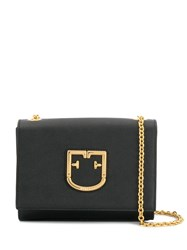 Furla Viva Small Shoulder Bag Black