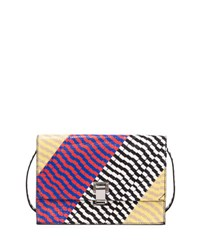 Proenza Schouler Small Snakeskin Lunch Bag On A Strap Multi