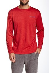 Free Country Reversible Long Sleeve Pullover Red