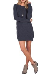 Volcom Women's Chained Down Cable Sweater Dress