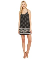 Brigitte Bailey Kimika Spaghetti Strap Dress Black Women's Dress