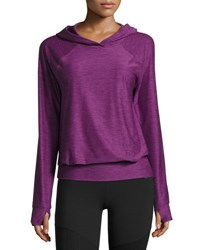 The North Face Motivation Jersey Hoodie Wood Violet Heather Purple