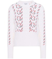 Thom Browne Wool Sweater White