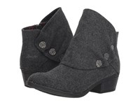 Blowfish Singe Grey Two Tone Flannel Pull On Boots Gray