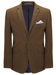 John Lewis Tailored Moleskin Blazer Natural