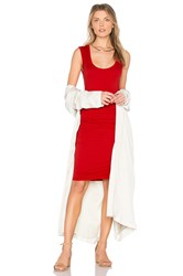 Velvet By Graham And Spencer Varella Tank Dress Red