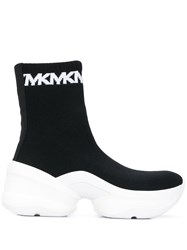 Michael Michael Kors Olympia Ankle Boots Black