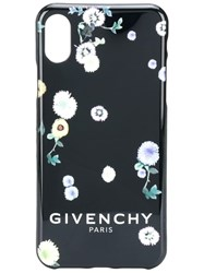 Givenchy Fiori Iphone X Case Black