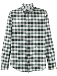 Closed Check Flannel Shirt Neutrals