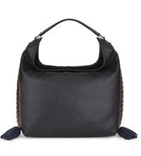 Rebecca Minkoff Chase Large Leather Hobo Black Multi