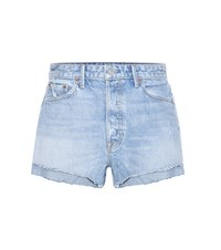Grlfrnd Cindy High Rise Jean Shorts Blue