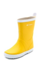 Tretorn Wings Rain Boots Yellow