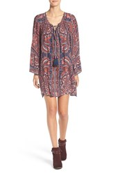Angie Women's Print Shift Dress