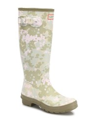 Hunter Original Flectarn Camo Tall Rubber Rain Boots