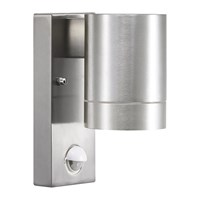 Amara Tin Maxi Sensor Outdoor Wall Light Aluminium