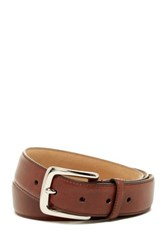 Cole Haan Macchiato Leather Belt Beige
