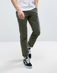 Vans Authentic Chino Trousers In Green Va3144kcz Green